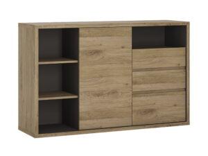 1 Door 3 drawer sideboard