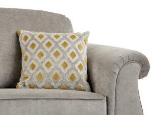 Bimshire Grey Fabric Close Up 2