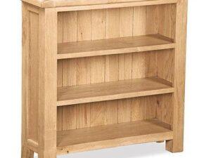 Sussex Oak Bookcase Low