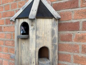 NEW 1/2 DOVECOTE BIRD HOUSE WALL MOUNTED