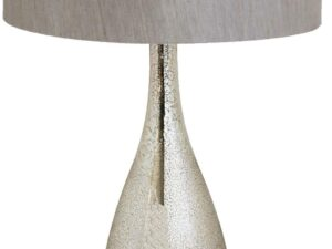 Henrietta Glass Sparkle Table Lamp Including Shade