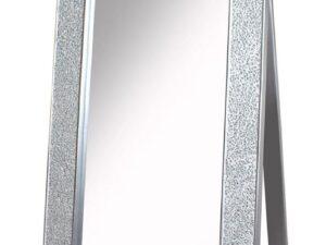 Mosaic Cheval Sparkle Mirror – Silver