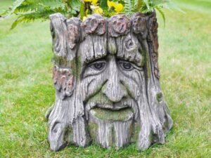 Tree Stump Planter Resin 25CM