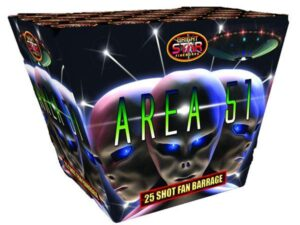 Area 51 Barrage 25 Shot