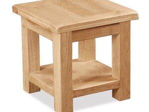 Sussex Oak Lamp Table
