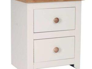Jamestown 2 Drawer Bedside Table Cabinet