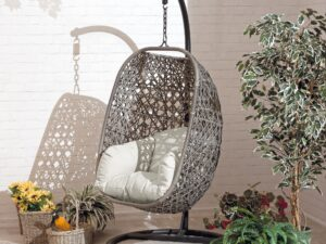 Cocoon Hanging Garden Chair Hammock Swing With Cushion New