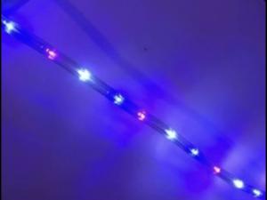 12 meter multi coloured rope light