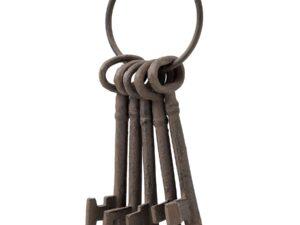 Cast Iron Bunch of Keys