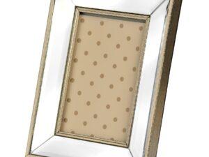 Rectangle Mirror Bordered Photo Frame 5×7