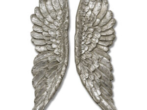 Antique Silver Angel Wings