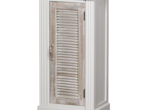 The Liberty Collection Storage Cabinet With Louvered Doors