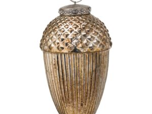The Noel Collection Large Hanging Acorn Decoration