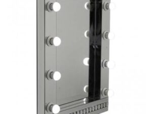 Hollywood Dressing Table Wall Mirror With Large Bright LED Bulbs (Ex Display)