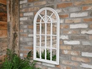 Garden Arch Mirror Distressed