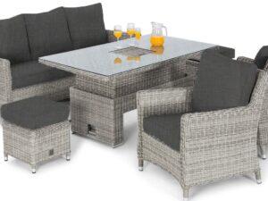 Grey Patio Lounge Set