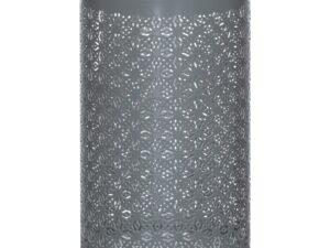 Large Silver And Grey Glowray Lantern